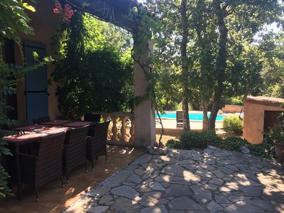 Photo for Villa with swimming pool in small village in Provence