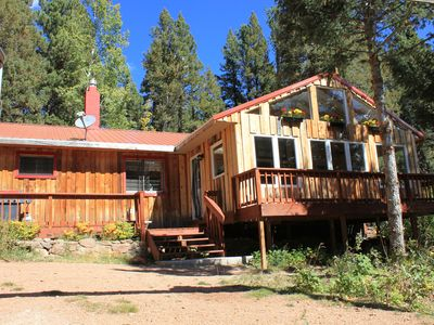 Photo for Colorado Springs Mountain Ranch Cabin Getaway In Pike National Forest