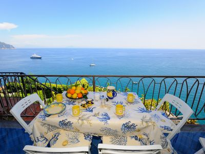 Photo for A Terrace on the Sea Castiglione di Ravello