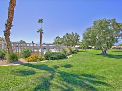 Photo for PS726 - Palm Desert Resort CC - Updated Lovely Green & 2 Pools! PET FRIENDLY!