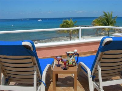 Photo for Oceanfront Beach House, Great Views, Close to Dive Sites!