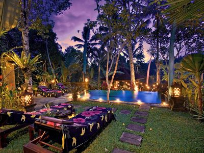 Photo for BALINESE EXOTIC Pool Villa With VALLEY VIEW