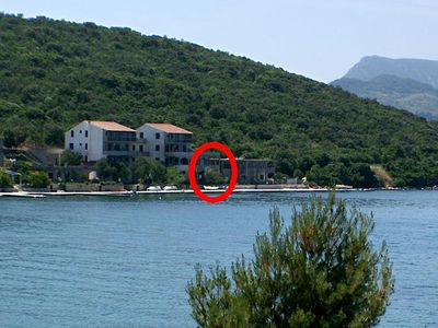 Photo for Studio flat near beach Luka Dubrava (Pelješac)