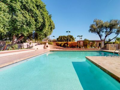 Photo for NEW LISTING! Spanish-style dog-friendly home w/ private hot tub & shared pool!