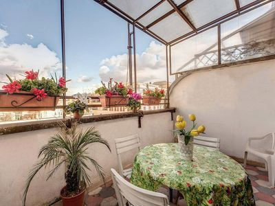 Photo for Comfortable and panoramic apartment in the Vatican area