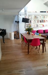 Photo for Exclusive Central Paris Townhouse w/ garden and terrace