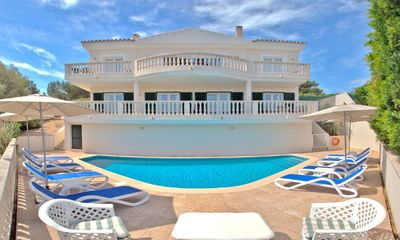 Photo for Large Luxury Villa, Very Private Pool Area & Sea Views, Wi-Fi, Full Air Con.