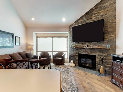 Photo for Ski In/Out Romantic Condo for hiking or skiing right next to lift with views!