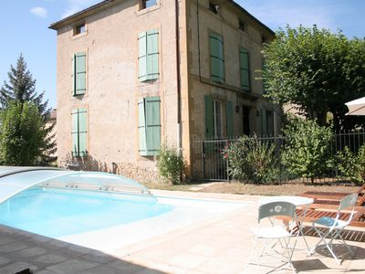 Photo for Maison Carrée is a typical French house a short walk to town with bars and shops