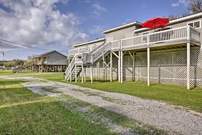 Welcome to your 3-bedroom, 1-bathroom Louisiana home-away-from-home!