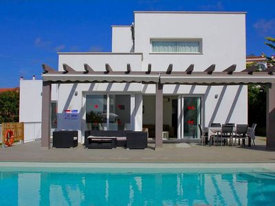 Photo for This villa offers you all that you need: comfort and tranquility. Situated at the top of Torre Soli,