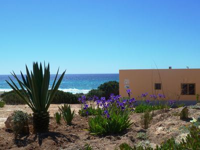 Photo for Bungalow Arenas del Mar 2-4 directly on Playa Arenals with sea views