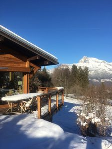 Photo for A position and an exceptional panoramic view of Mont Blanc
