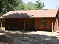 The cabin is nice. The property is nice