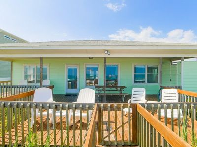 Photo for COSTIC: 3 BR / 2 BA oceanfront in Topsail Beach, Sleeps 6
