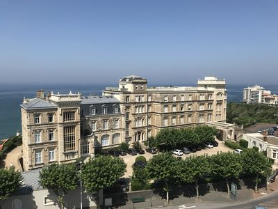 Photo for Biarritz Cote des Basques 76m2 luxury Direct beach access by lift