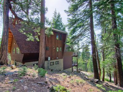 Photo for Welcome to Stoneoaks, an A-frame mountain home hand-built in the late 70s