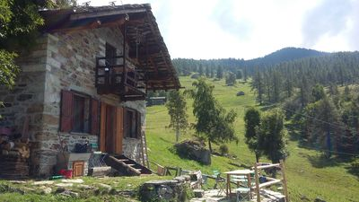 Photo for Lovely little cottage in the alpine pastures