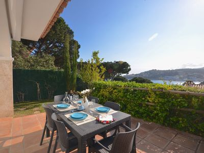 Photo for REF. 2131 / HUTG-16439. TOWNHOUSE WITH SEA VIEW AND POOL.  Fantastic house ideal for a n