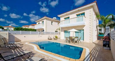 Photo for Protaras Deluxe Villa Tetra is based only 200m from the beautiful resort of Protaras, on the south e