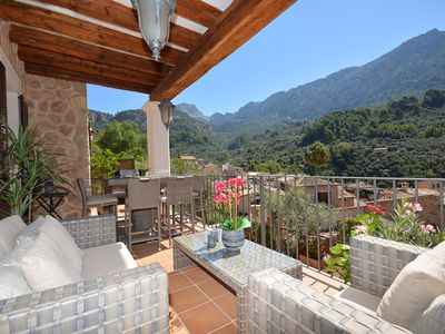 Photo for Beautiful House, Heated Private  Pool In Fornalutx, WiFi, Near Soller, Mallorca