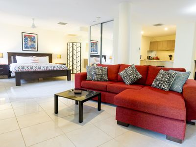 Photo for Luxury 1 bedroom with bath and new King bed