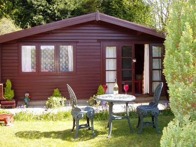 Photo for 'Pinelodge' - SELF CATERING LODGE -   LLANTRISANT - 12 MILES FROM CARDIFF.