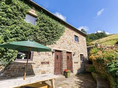 Photo for Fantastic panoramic views, beautiful Peak District Cottage with Indoor Pool