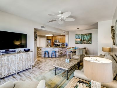 Photo for Beachfront paradise w/ shared pools, sports courts, fitness center, beach access