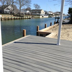 Dock your boat in your back yard