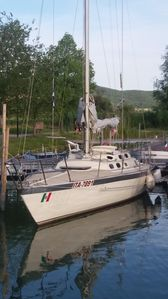 Photo for Sailboat of 11.50 at Lake Trasimeno