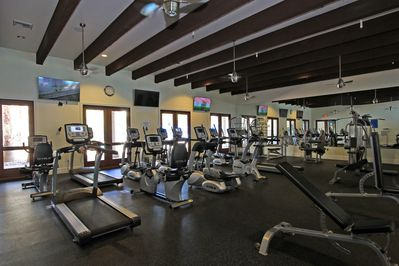 Clubhouse fitness center