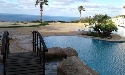 Photo for Experience this ideal holiday home, offering breathtaking sea and country views