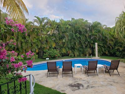 Photo for Caribbean Getaway - Private Villa in a Gated Community (Sosúa)