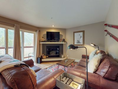 Photo for NEW LISTING! Ground floor condo w/ private balcony, shared hot tubs, near slopes