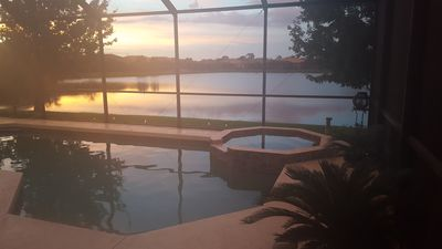 Photo for Lakefront Venice Home w/ Heated Pool & Hot Tub