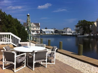 Photo for Boat and Beach Delight!  Seashore Home on Peaceful Island Lagoon!