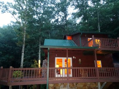 Photo for ASKA ROAD ADVENTURE AREA-10 mins from Lake BR, the River and downtown Blue Ridge