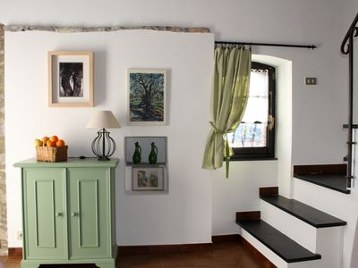 Photo for Rustic Olive Tree Apartment 1 km from the sea
