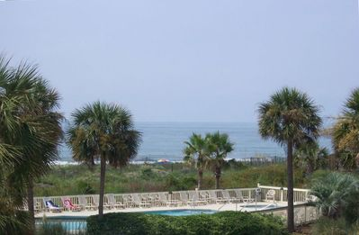 Photo for CHARLESTON BEACHFRONT- THE BEST OF ALL WORLDS 2nd floor A+ VIEWs/LOCATION/DEALS!