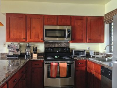 Kitchen with Granite and New Appliances