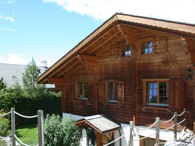 Photo for A charming chalet in Crans-Montana