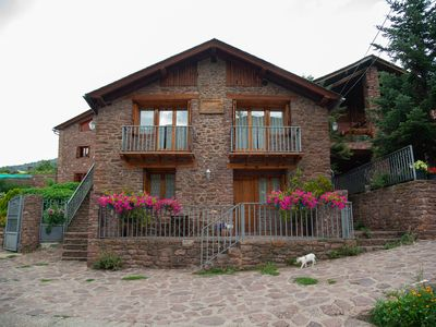 Photo for Rural apartment Cal Bosch cozy and with magnificent mountain views.