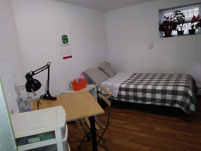 Photo for comfy room, a block away from the JSQ subway
