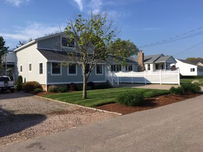 Photo for WALK TO BEACH! Misquamicut cottage Weekly rentals