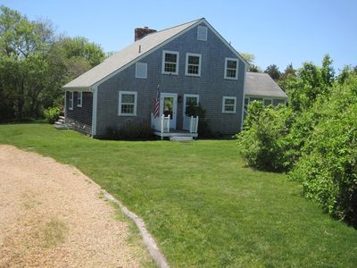 Photo for Walk to Town, Bike to Beach, Pet Friendly, Flexible Arrival/Departure Dates