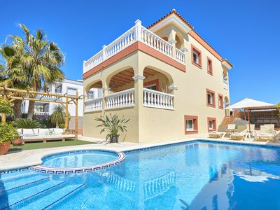 Photo for VILLA WITH POOL AND GYM 3KM FROM IBIZA CITY