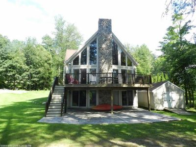 Photo for The Chalet ~ Waterfront Family-Friendly Vacation Home on Sebago Lake