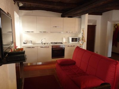 Photo for Apartment Cusius in Orta San Giulio on Lake Orta with parking and lake view