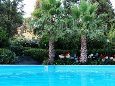 Photo for Luxury Sicilian Villa with a private pool and park, at Etna slopes